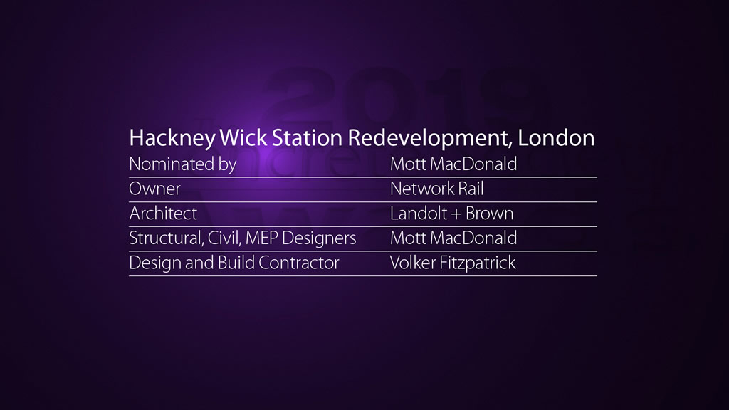 Hackney Wick Station Redevelopment, London