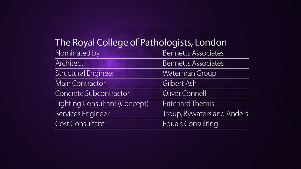The Royal College of Pathologists, London
