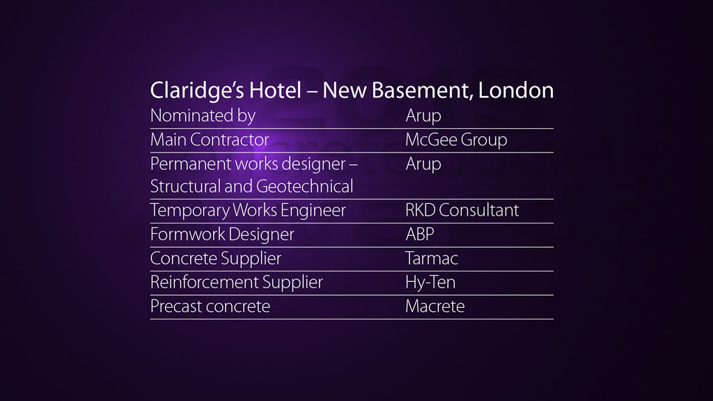 Claridge's Hotel – New Basement, London
